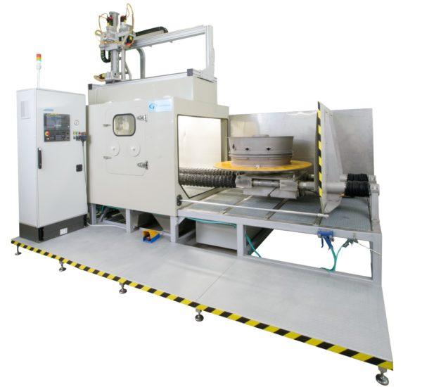 Установка гидроабразивной обработки, очистки КС-150А/5D