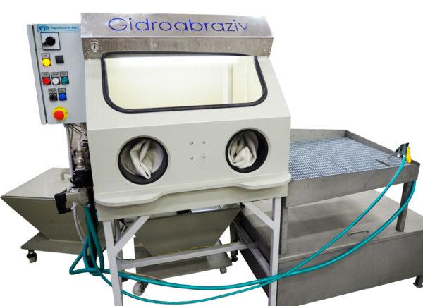 МС-40/СК мини-парта установка гидроабразивной очистки