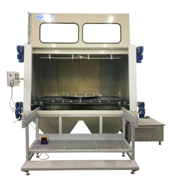 Установка гидроабразивной очистки открытого типа КОТ-300