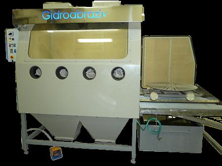 КС-140 установка гидроабразивной очистки