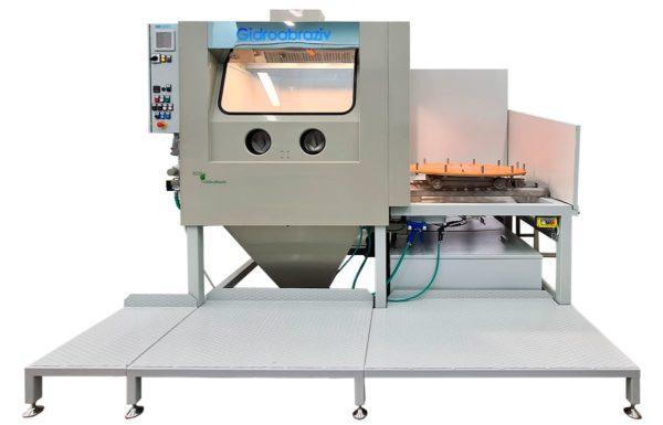 Установка гидроабразивной очистки КС-150