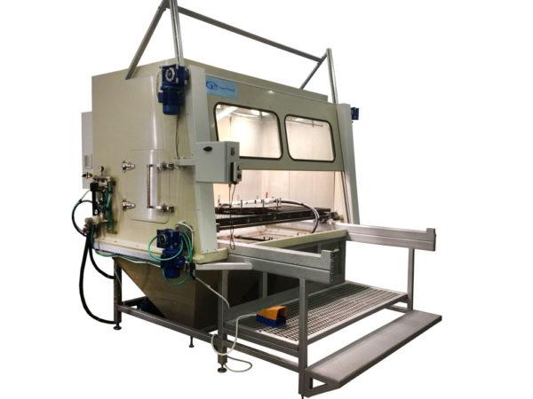 КОТ-300 Установка гидроабразивной очистки открытого типа