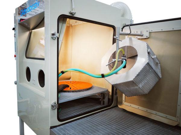 Галтовочный барабан установки гидроабразивнойочистки КС-100СГД/СК