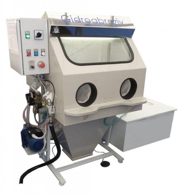 Установка гидроабразивной очистки МС-40/СК, мини-парта