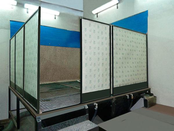 Установка гидроабразивной очистки ОП-4.