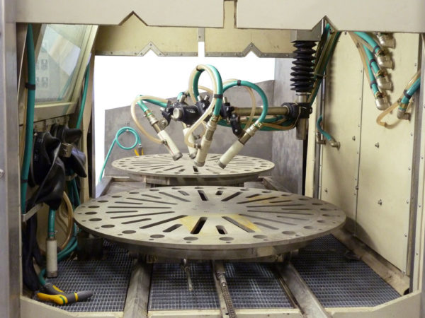 Многосопловая установка гидроабразивной очистки КС-150АП
