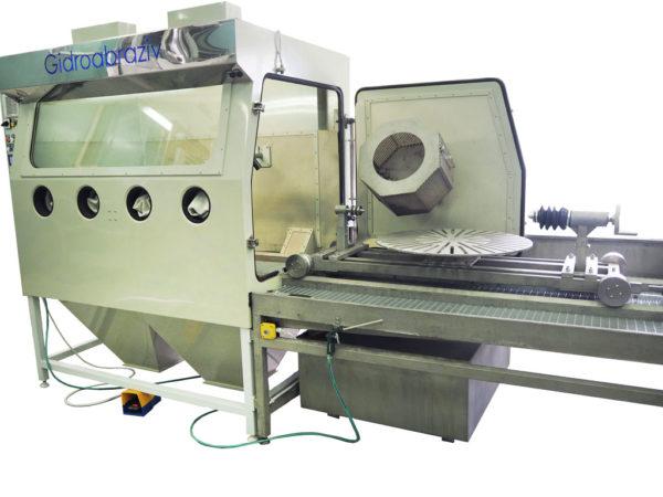 Установка гидроабразивной очистки КС-140СГД