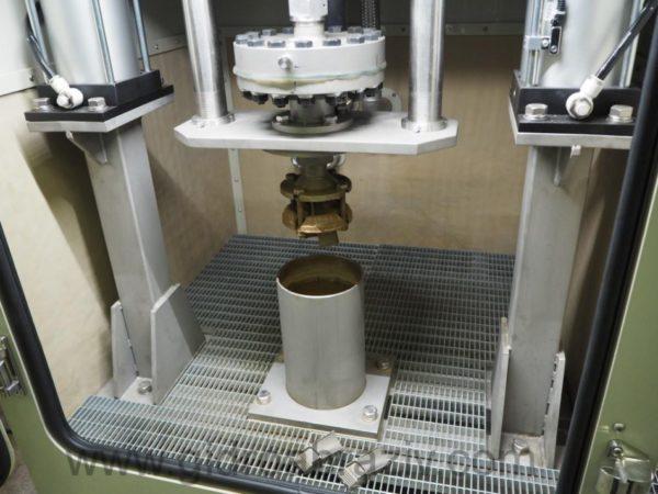 Прокачка гидроабразивом внутренней полости турбинных лопаток