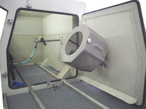 Струйная гидроабразивная очистка КС-140СГД