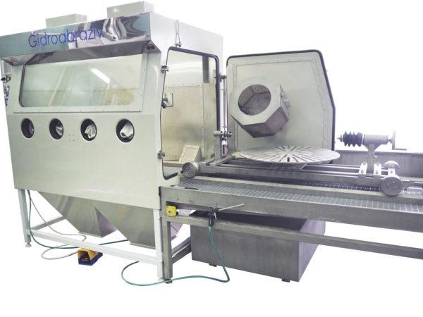 Установка гидроабразивной очистки КС-140СГД/ТЦ