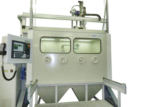 Установка-автомат гидроабразивной очистки с ЧПУ
