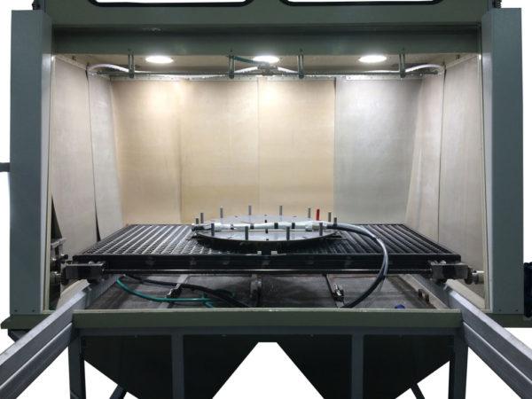 КС-1401 Установка гидроабразивной очистки крупногабаритных изделий