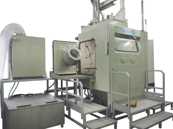 Опция: галтовка в установке гидроабразивной очистки КС-150АГ/5D