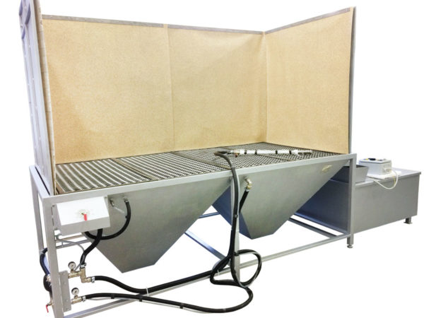 Обитаемый подиум гидроабразивной очистки ОП-2