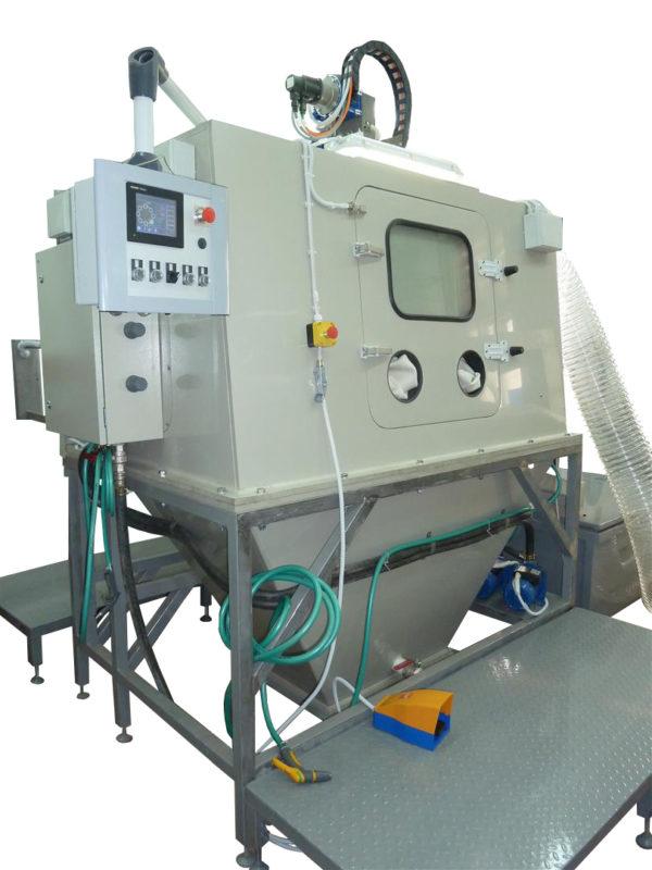 Карусельная гидроабразивная очистка КТВ-300