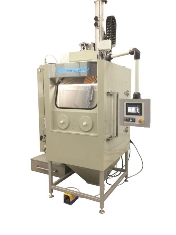 Установка для наклепа дробью КС-100А/2D