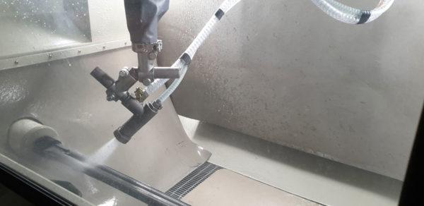 Гидроабразивная обработка стволов
