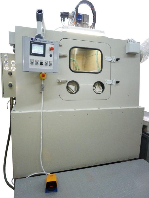 Установка гидроабразивной очистки тел вращения КТВ-300