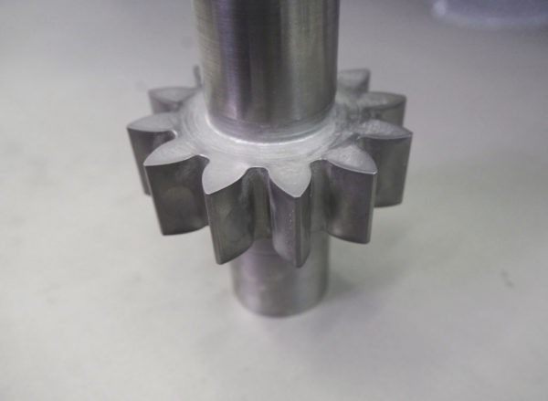 Скругление кромок гидроабразивным шлифованием