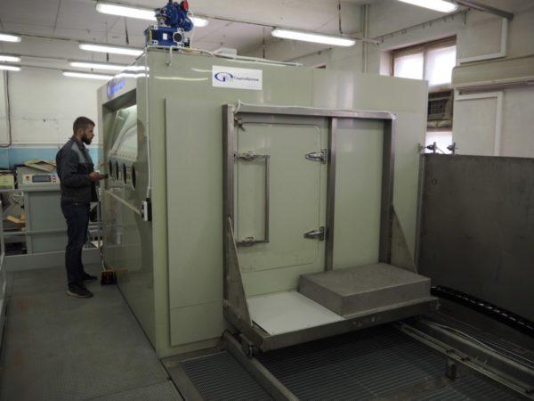 Гидроабразивная очистка КС-200А/5D