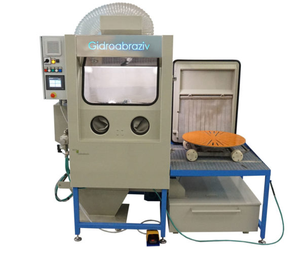 Установка гидроабразивной очистки КС-100ТГ/СК