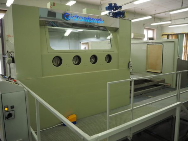 Установка гидроабразивной очистки КС-200А