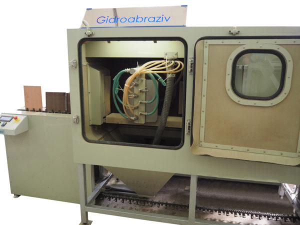 Установка гидроабразивной обработки печатных плат КС-400П.