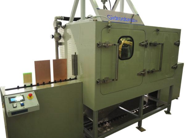 Установка гидроабразивной очистки печатных плат