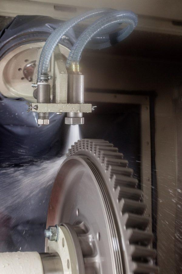 Гидроабразивная обработка диска ГТД (Large)